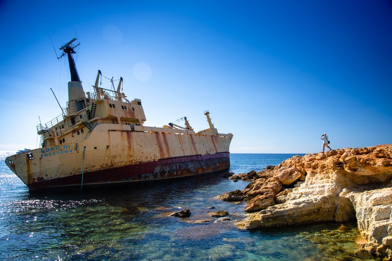 ship, shipwreck, sea, Blue Edro III shipwreck photo preview