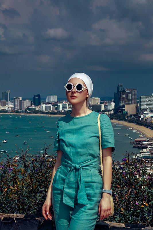 woman, beauty, fashion, art, outdoors Pattaya Moodphoto preview