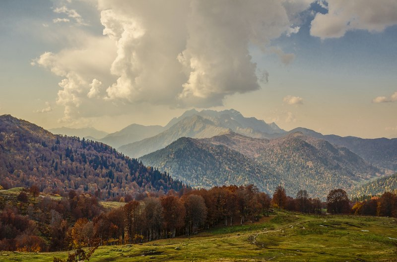 nevant60, пейзаж, красота, природа, горы, абхазия На Альпийских лугах Абхазииphoto preview