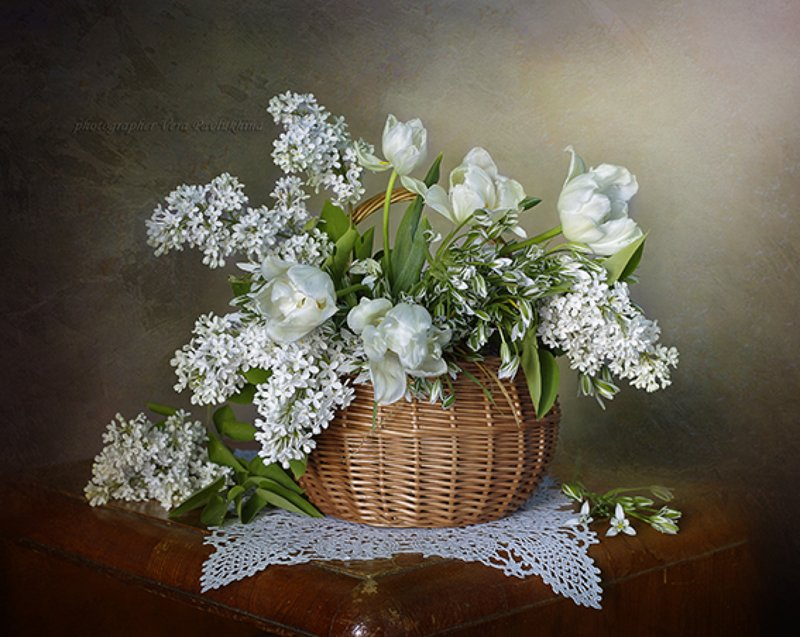 натюрморт,цветы,весна,вера павлухина, Весенние цветыphoto preview