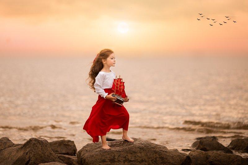 фотограф москва,  фотосессия москва,  детский фотограф москва, детская фотография Ассоль. История одной мечтыphoto preview