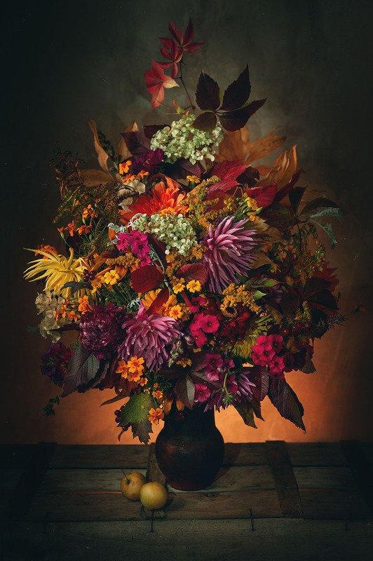 цветы, удмуртия, осень Осенний букетphoto preview