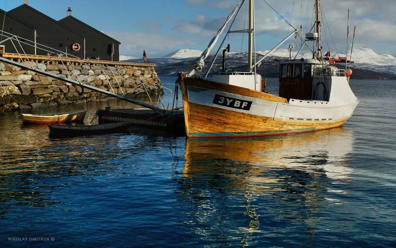 пейзаж рыбак. Финнснес. Норвегияphoto preview