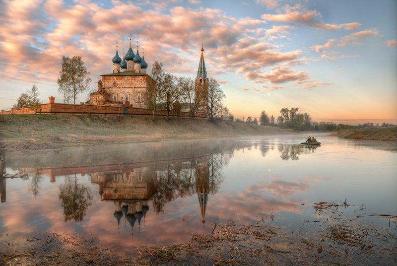 Утро в селе Дунилово. Ивановская областьphoto preview