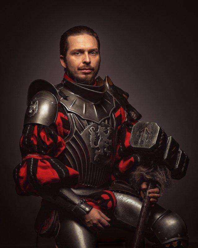 косплей рыцари портрет Мидденхейм Рыцари Мидденхеймаphoto preview