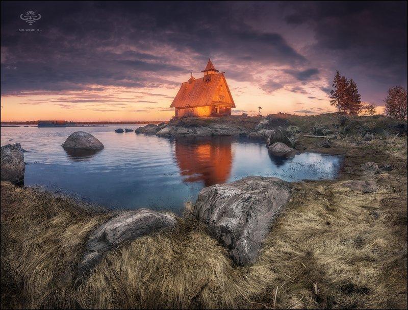Россия, Соловки, закат, пейзаж, j,обработка, lightroom Красота северной природы...photo preview