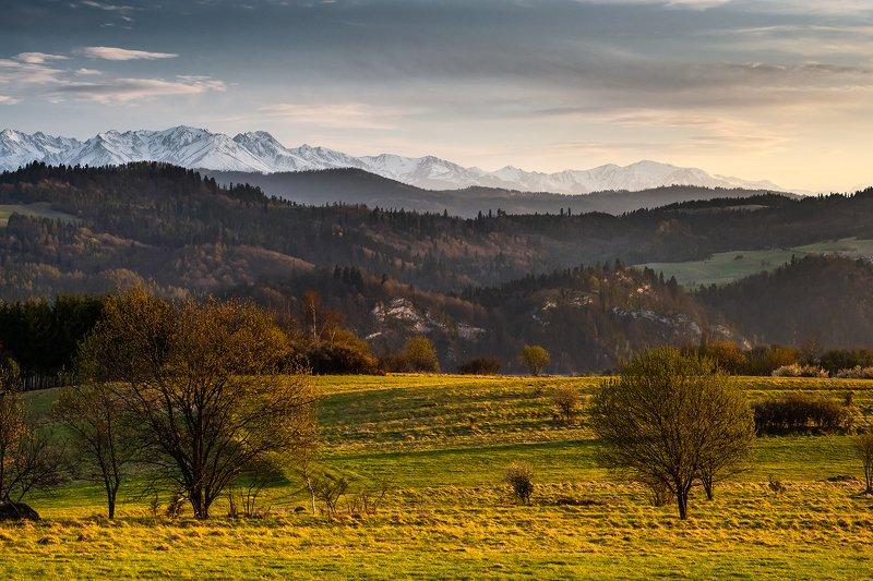 europe, mountains, poland, sunset Tatra Mountainsphoto preview