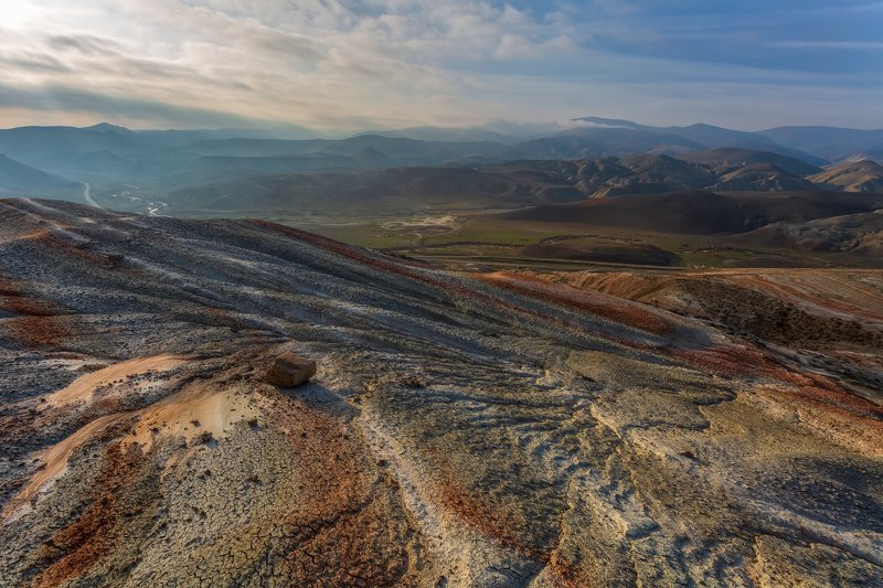 Рассвет в полосатых горахphoto preview