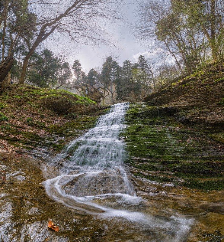 северный, кавказ, никитино, кировский, лаба,ручей, капустина, весна Шум весеннего ручьяphoto preview