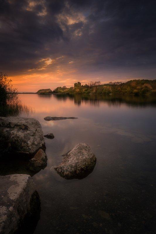 Ireland, Castle, Sunset, Sunrise, Long exposure, longexposure, river, lake Menlo Castlephoto preview
