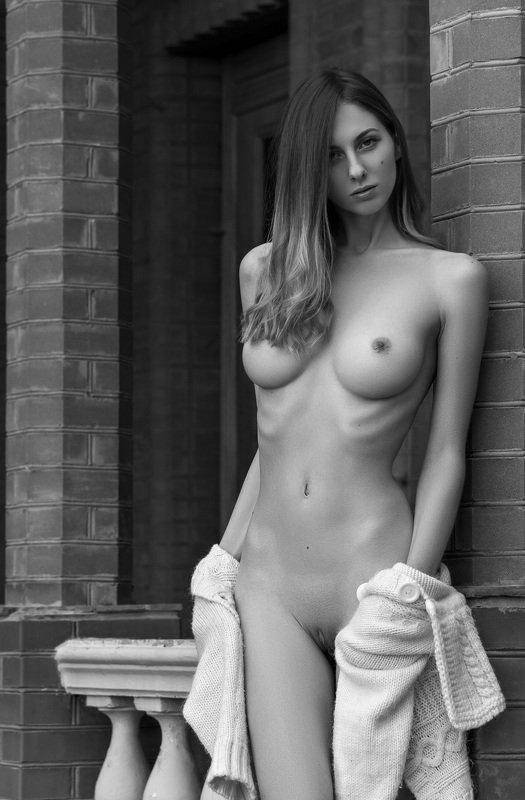 nude,ню,model,ч/б,девушка,обнажённая Sashaphoto preview