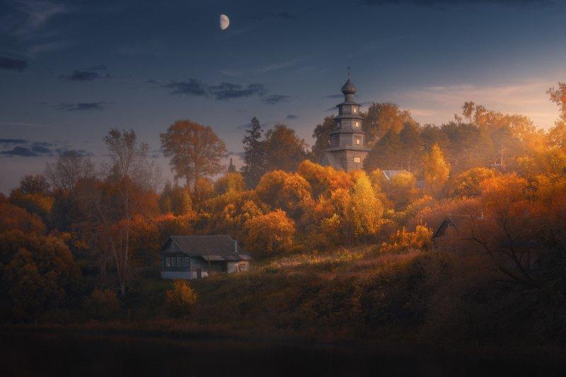 Осенний вечер в Торжке photo preview