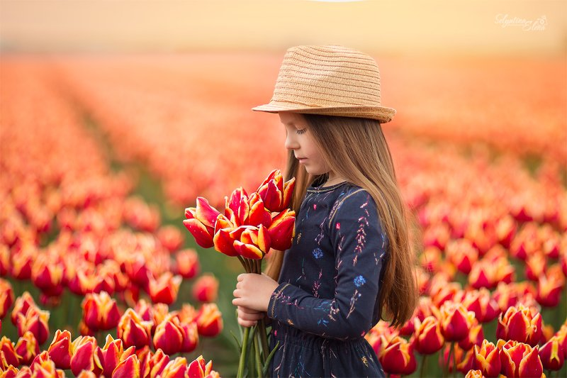tulip, spring, kids photographer, children photographer, детский фотограф, тюльпан, тюльпаны, портрет, детский портрет, цветы  Spring melodyphoto preview