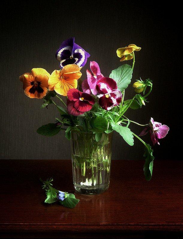 сергей алексеев, натюрморт Цветы из старого садаphoto preview