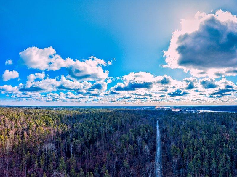Дорога в облака.photo preview