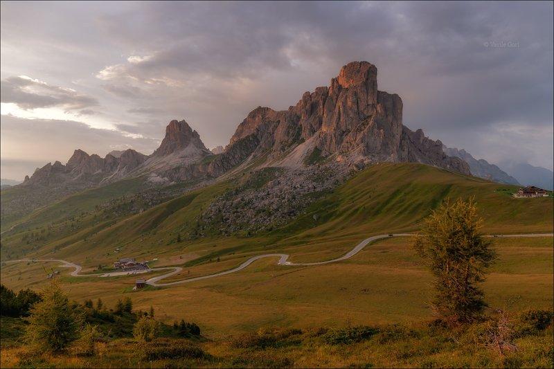 доломитовые альпы,passo giau,панорама,лето,италия,alps \
