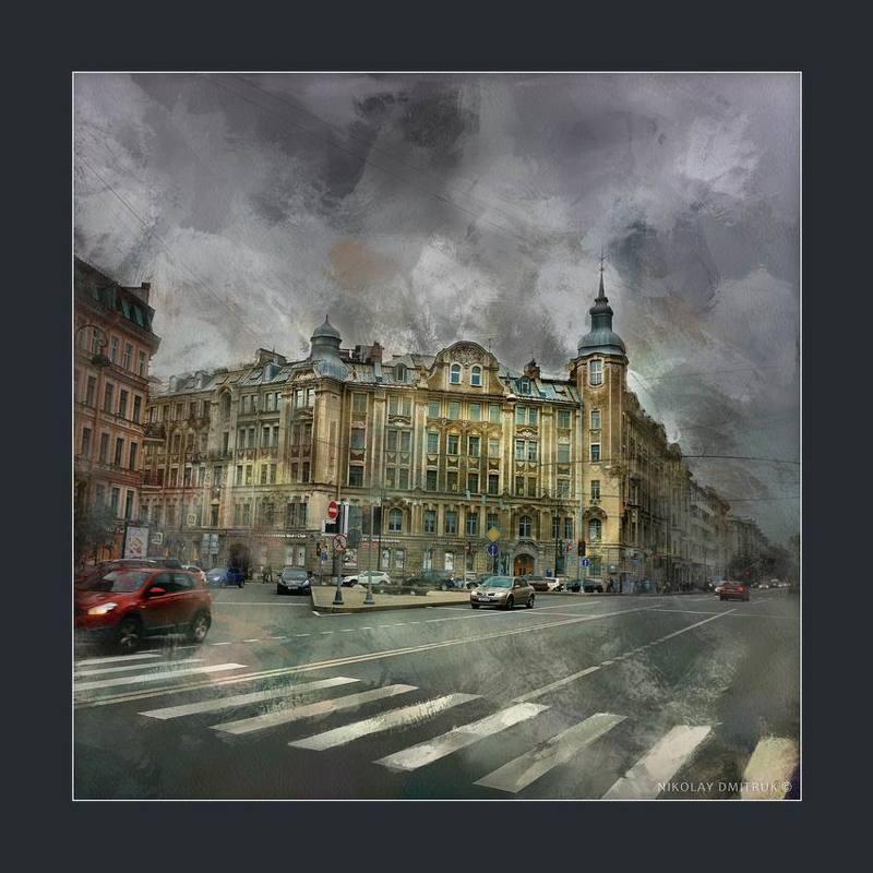 город Австрийская площадь. Санкт - Петербургphoto preview