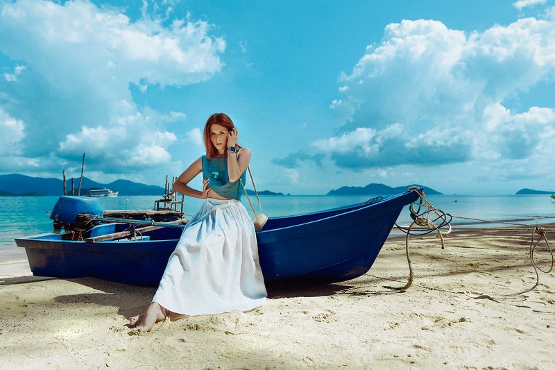 woman, beauty, fashion, art, outdoors Summer Dreamphoto preview