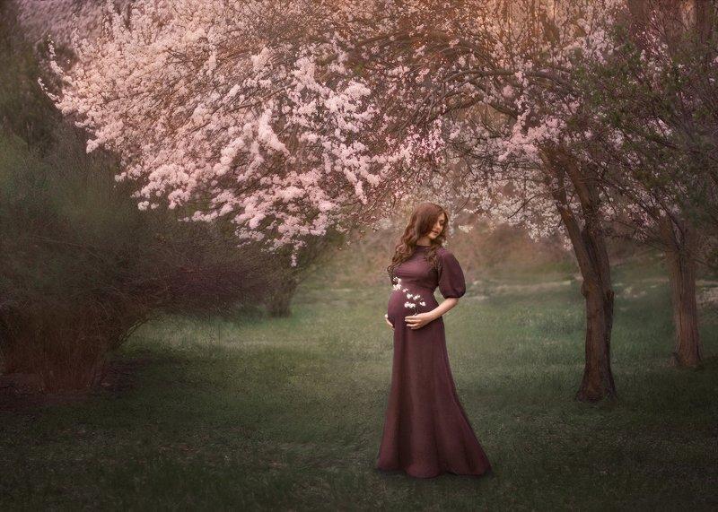 беременность, цветение photo preview