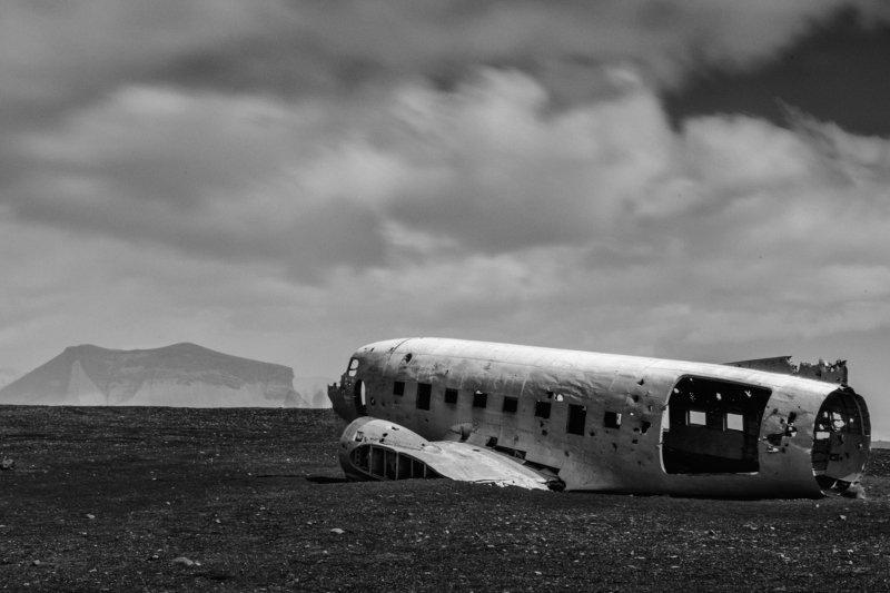 Черный пляж, Исландияphoto preview
