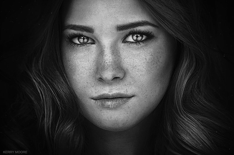 portarit, girl, style, портрет, blackandwhite, fineart,picture, freckles,model,female, Tatyanaphoto preview