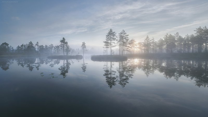 Misty morningphoto preview