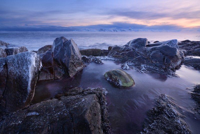 Холодное утро холодного моряphoto preview