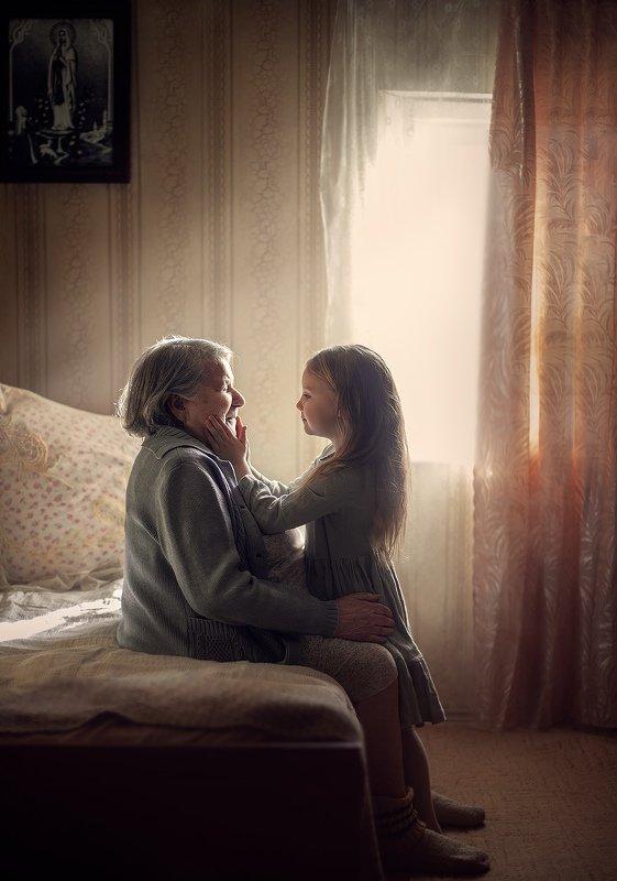 С бабушкой!photo preview