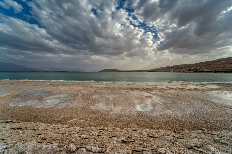 The Dead Sea,Sunsetphoto preview
