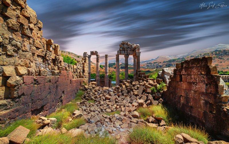 history monument ruins lebanon Lebanon in 44 ADphoto preview