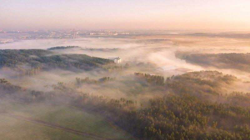 беларусь, утро, рассвет, туман, лето, минск Утро в Стайкахphoto preview