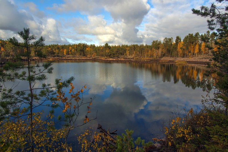 карелия Рыжая осеньphoto preview