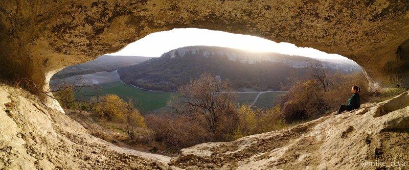 Закат с видом на Эски-Керменphoto preview