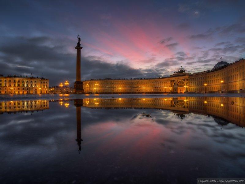 Утро на Дворцовой...photo preview