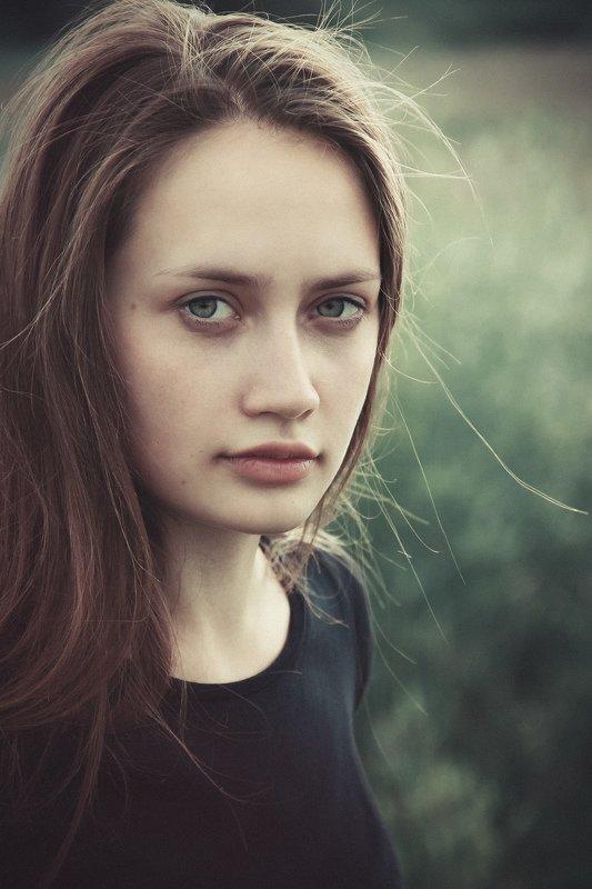 девушка, портрет, волосы Юляphoto preview