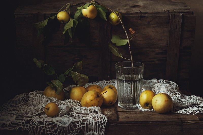 натюрморт, яблоки ***photo preview