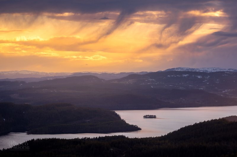sunset.sky,clouds,island,lake,mountains,norway,norwegian, Evening moodphoto preview
