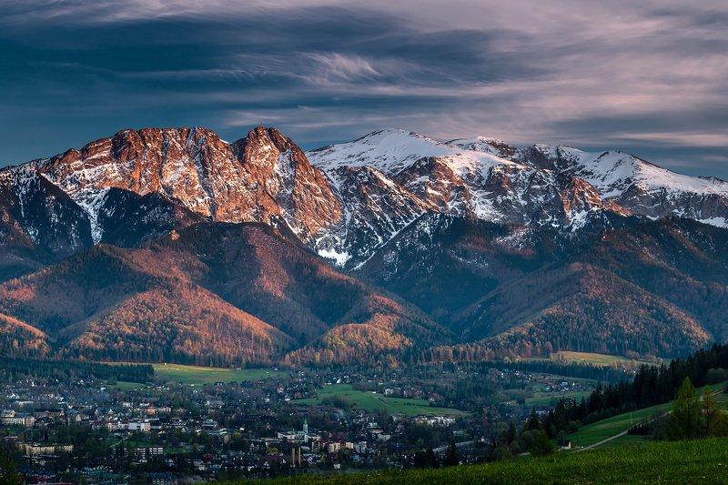 europe, mountains, poland, sunset, zakopane Tatra Mountainsphoto preview