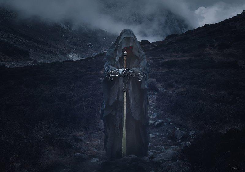 горы, существо, магия *****photo preview