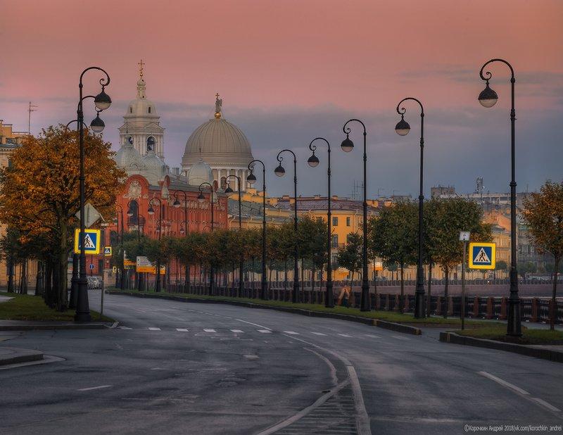 санкт-петербург Утро на набережной Макарова...photo preview