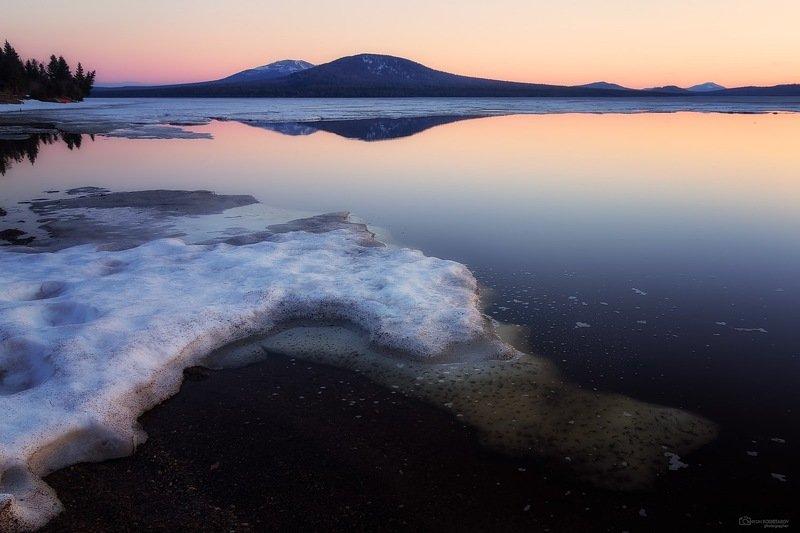 вечер на озере Зюраткульphoto preview