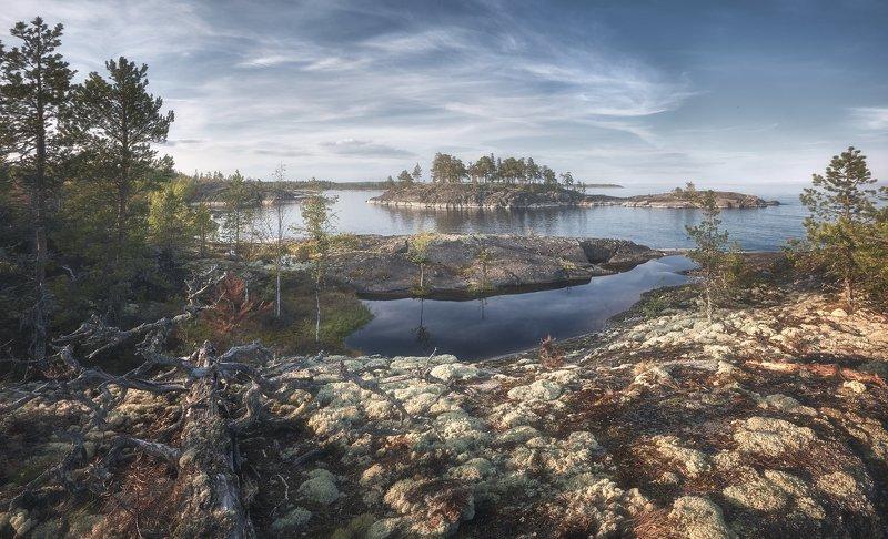 Ладожское озеро Ладогаphoto preview