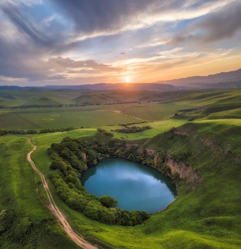 кавказ Озеро Шадхурей.photo preview