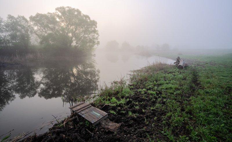 Туманное утро 9 маяphoto preview