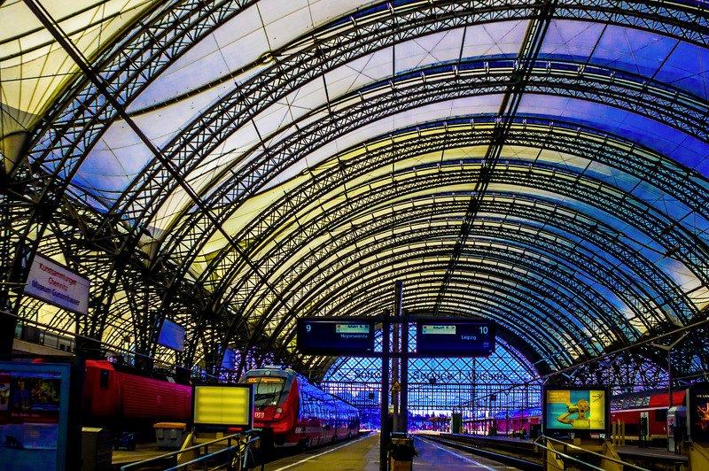 Дрезден вокзал.photo preview