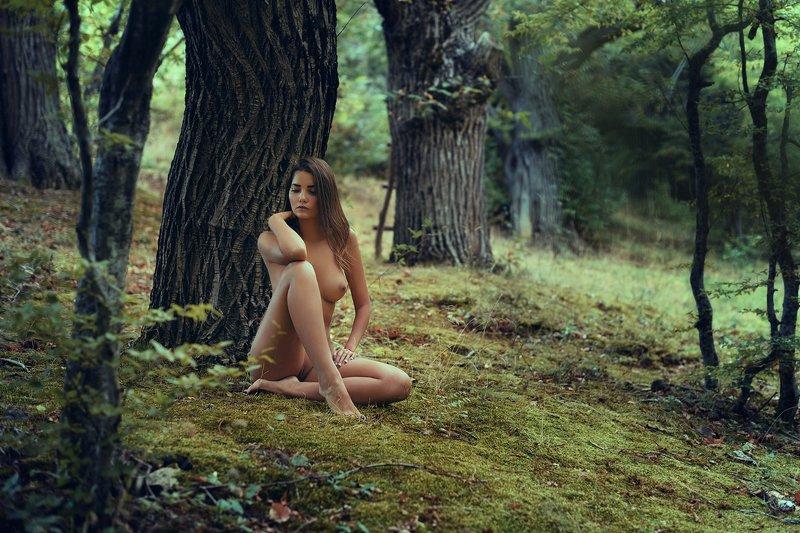 девушка, модель, ню Тенёкphoto preview