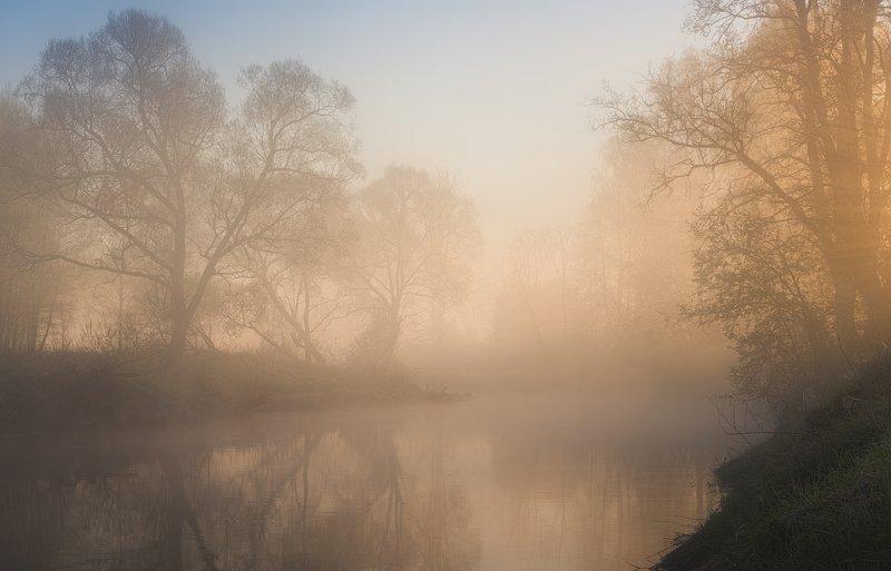 истра, река, пейзаж, рассвет Солнечные ванныphoto preview