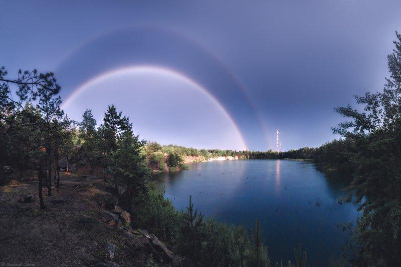 украина, коростышев, пейзаж, природа, карьер, каньон, дождь, гроза, лето, радуга, краски, тишина, уединение, счастье, жизнь, воздух, чистый, вдохновение, облака, отражение, деревья, просторы, фотограф, чорный, \