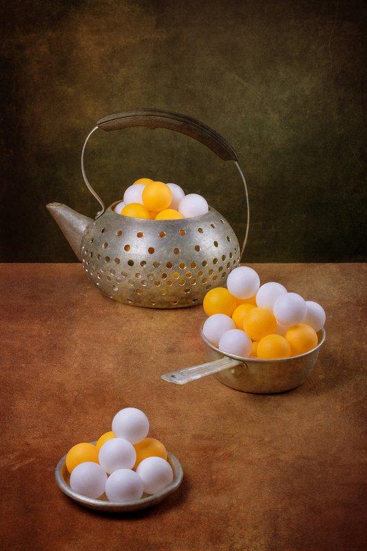 Натюрморт со странным чайникомphoto preview