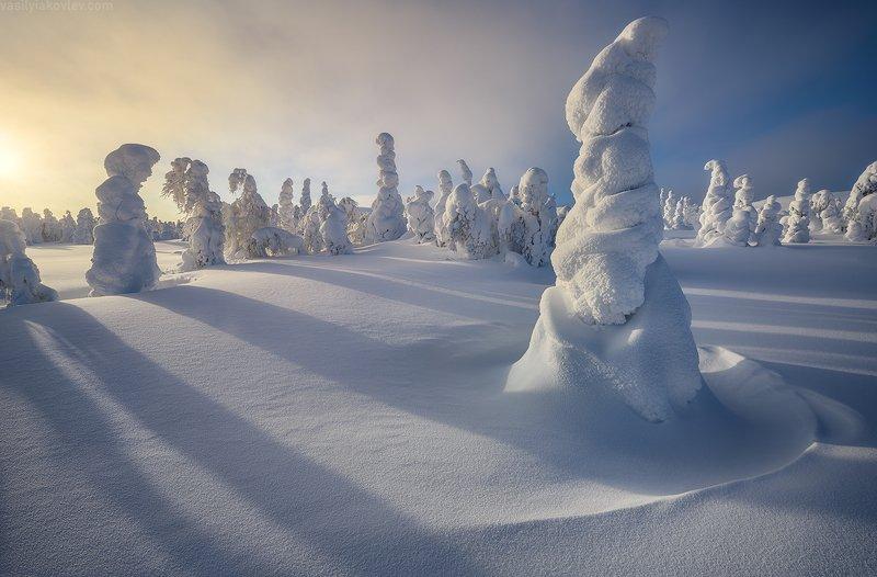 гух, урал, зима, россия, горы, снег, василийяковлев, яковлевфототур Волшебный вечер на ГУХе фото превью